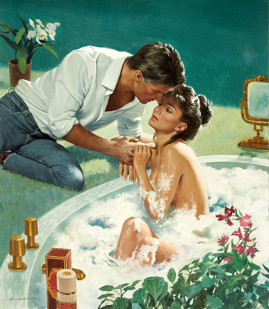 Free Romance Book Cover Art : Robert berran looks like he is about to get soapy