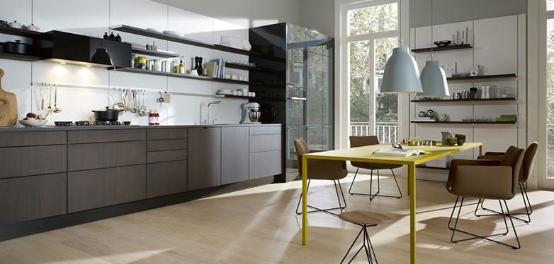 Grey Kitchen Elements