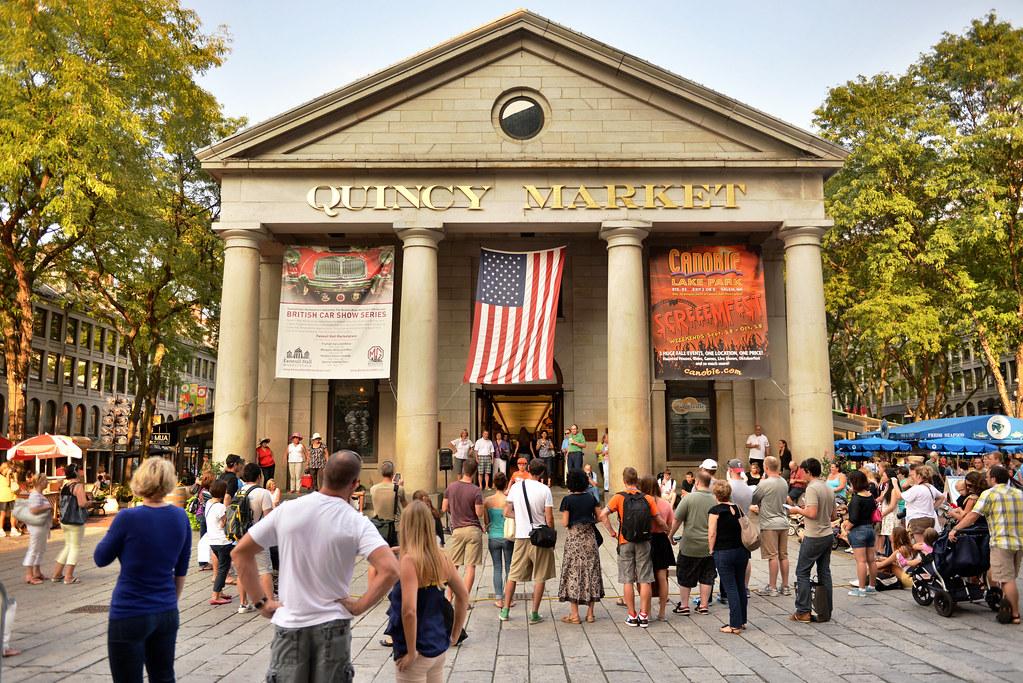 Quincy Market, Boston | Flickr - Photo Sharing!