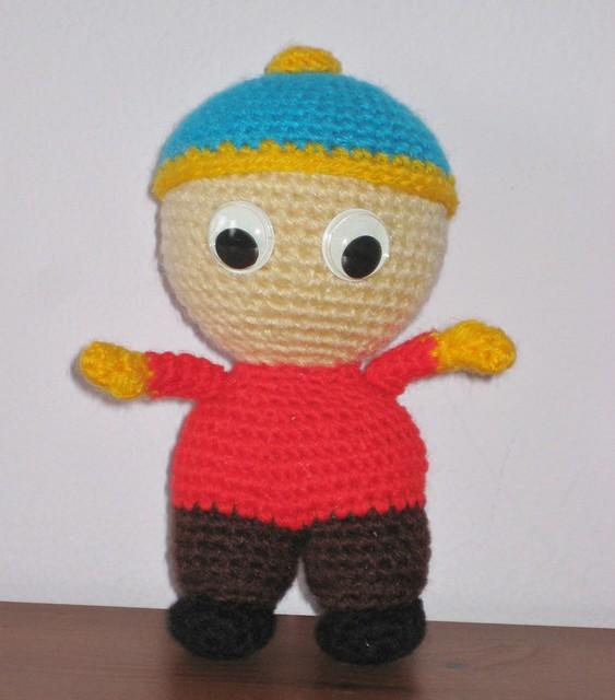 Amigurumi Cartman : Eric Flickr - Photo Sharing!