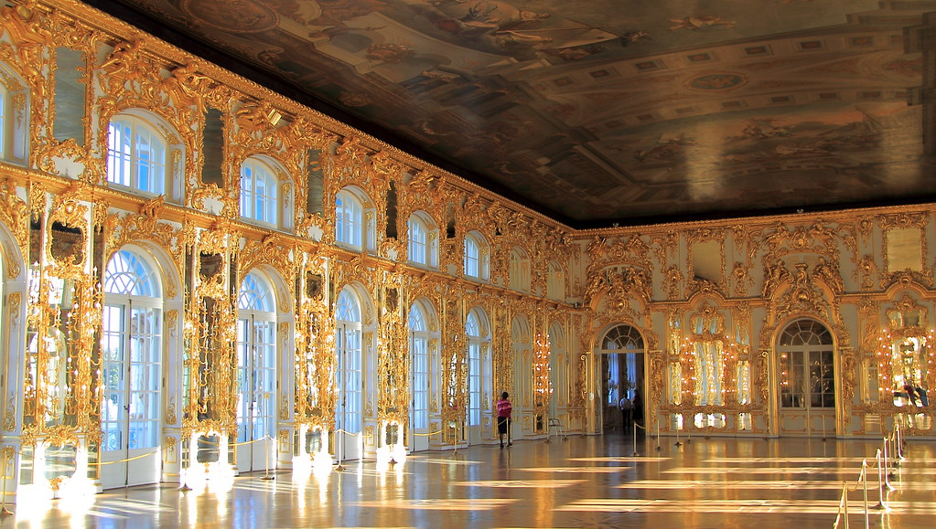 Catherine Palace Grand Ballroom John Menard Flickr