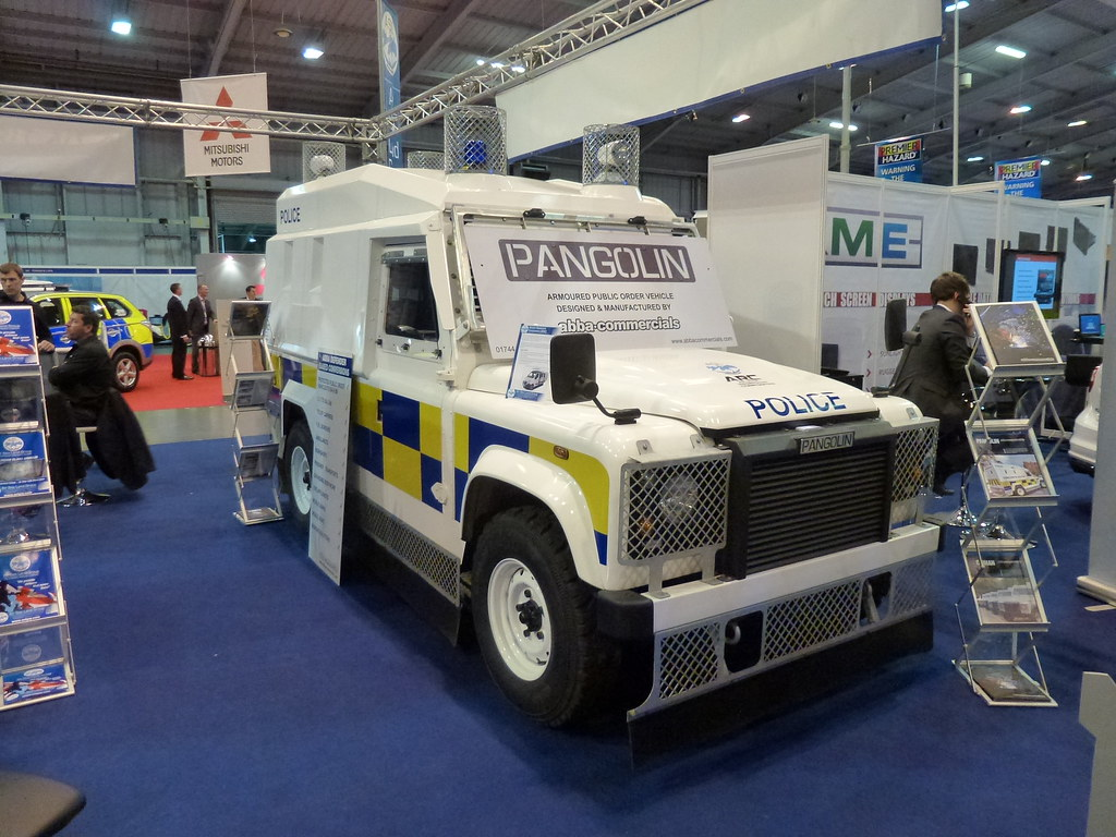 Pangolin Land Rover Defender Pangolin Police Land Rover