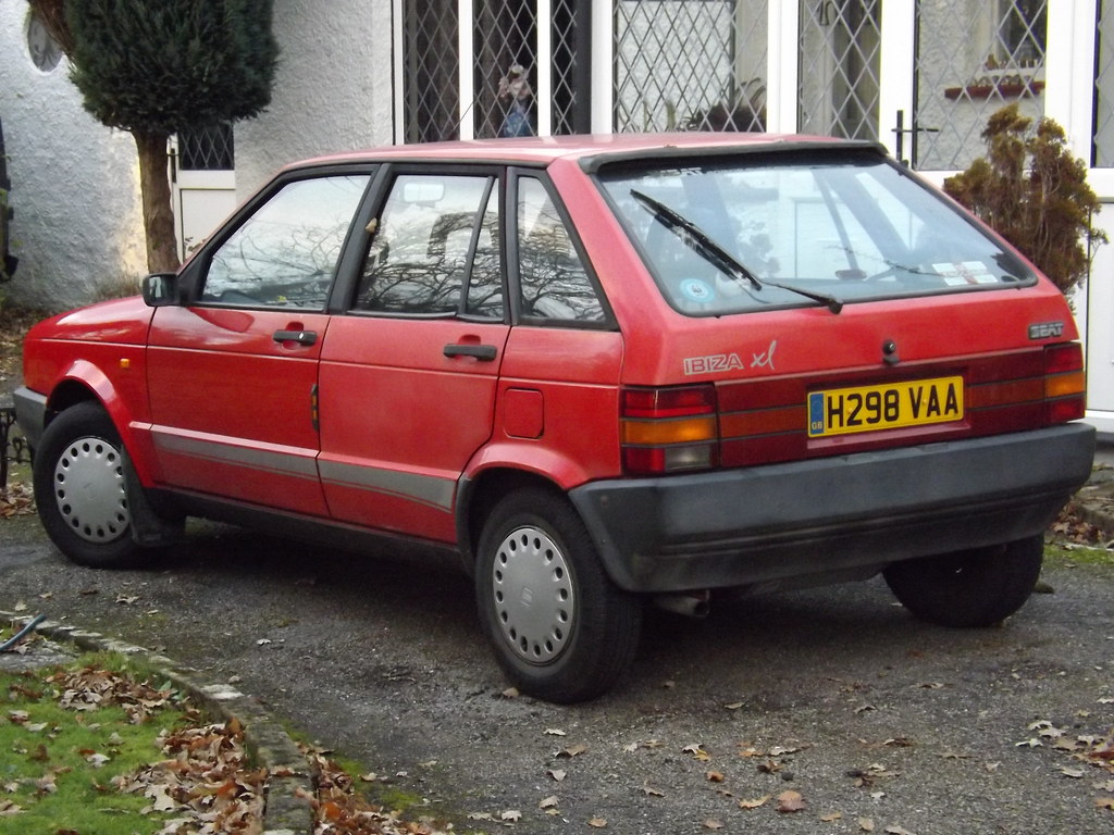 1991 Seat Ibiza 1 2 Xl 455 The Owner Of This Told Me