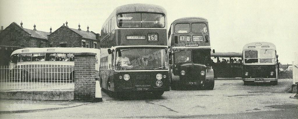 North Western Road Car Company Ddb 178c Leaving Preston Bu