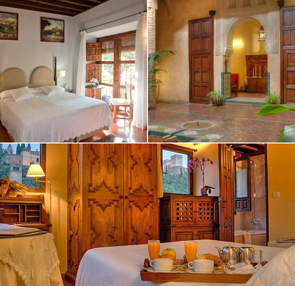 Casa Morisca de Granada, un sueño de hotel donde dormir con vistas a la Alhambra