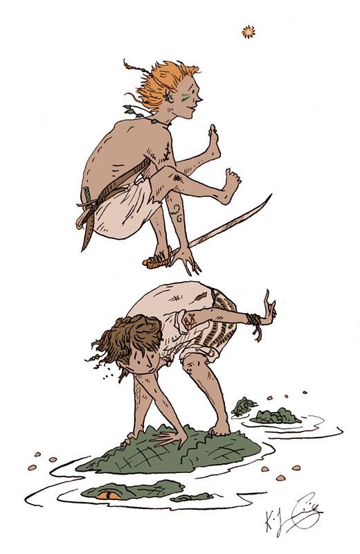 Illustration Friday: Tribal