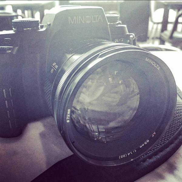 Minolta AF 85mm f1.4 初代人像鏡皇