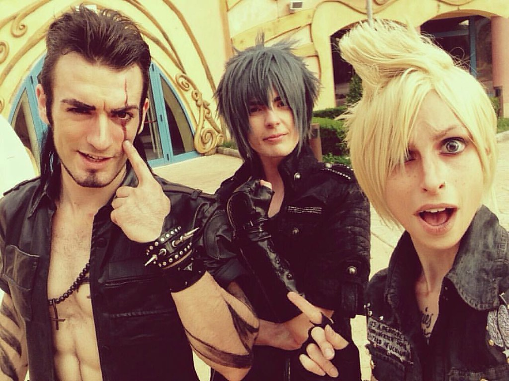 Final Fantasy Xv Wallpaper 4k Whit New Prompto By: Gladiolus, Noctis And Prompto Are Waiting For You! How Muc
