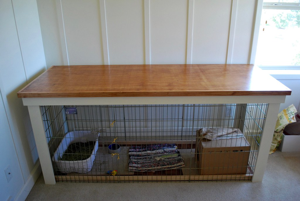 Bunny condo xpen after after the 2x6 39 xpen for Easy diy rabbit cage budget