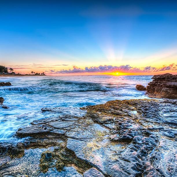 Sandy Beach: Beautiful Sunrise At Sandy Beach © 2013 What Jean Likes Ph