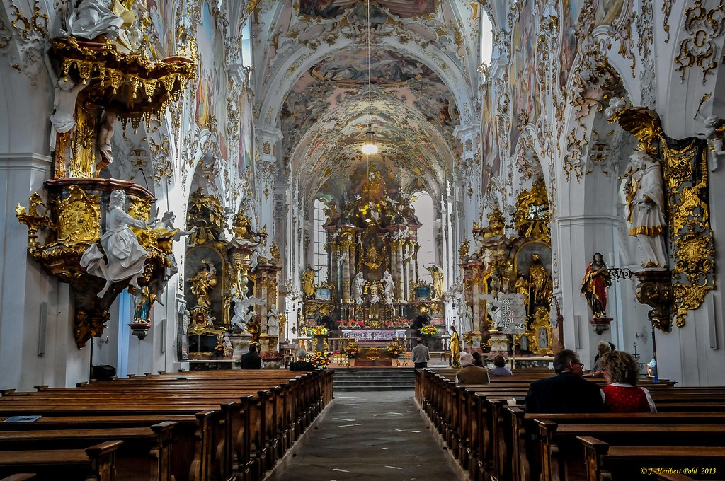Ehemalige Kloster Stitfskirche Rottenbuch Im Allg 228 U Lan