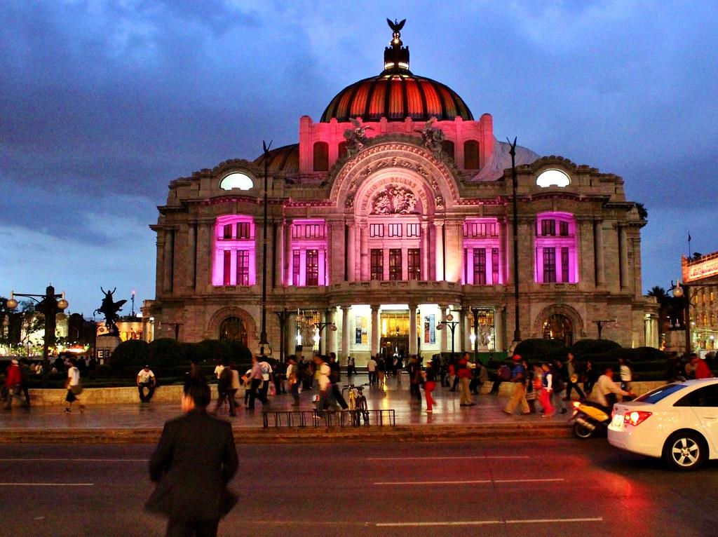 Ciudad De M 233 Xico Teatro De Las Bellas Artes Vista Noctur