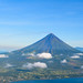 Aerial view of Mayon Volcano