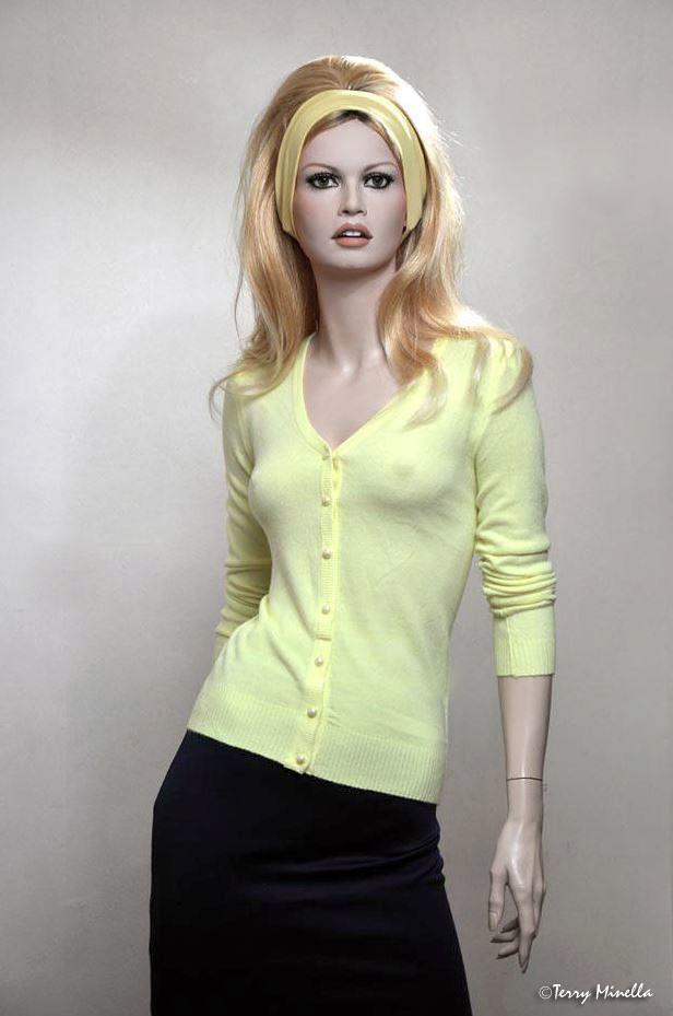 Brigitte Bardot Lifesize Mannequin Sculpture 2014