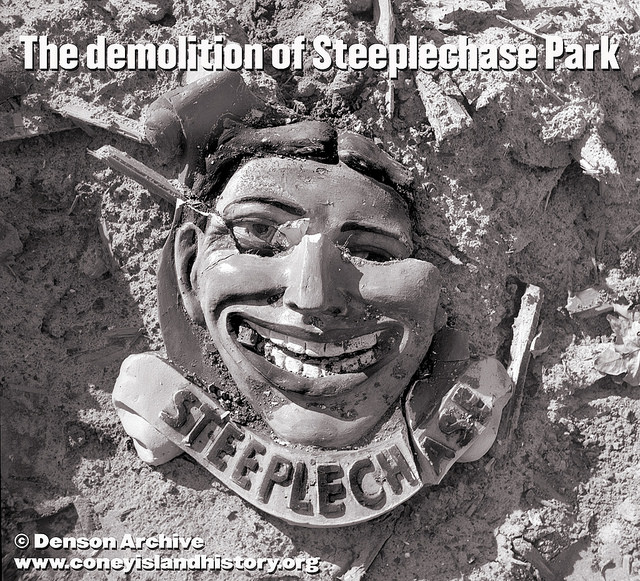 quotthe face of steeplechasequot opening may 24 at the coney isl