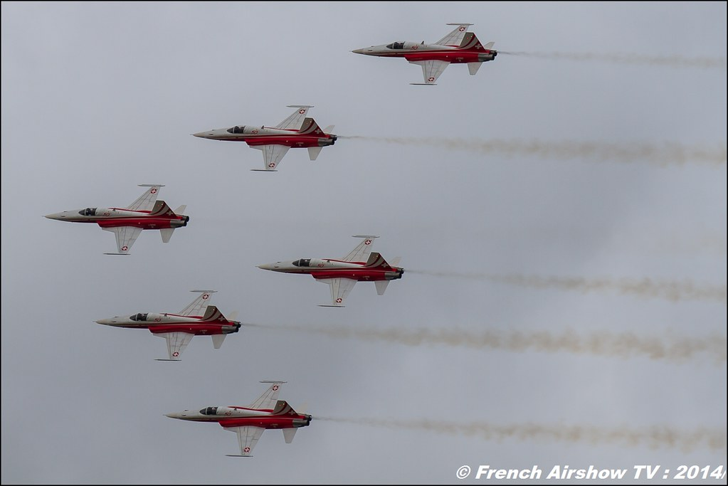 Patrouille Suisse Royal International Air Tattoo 2014