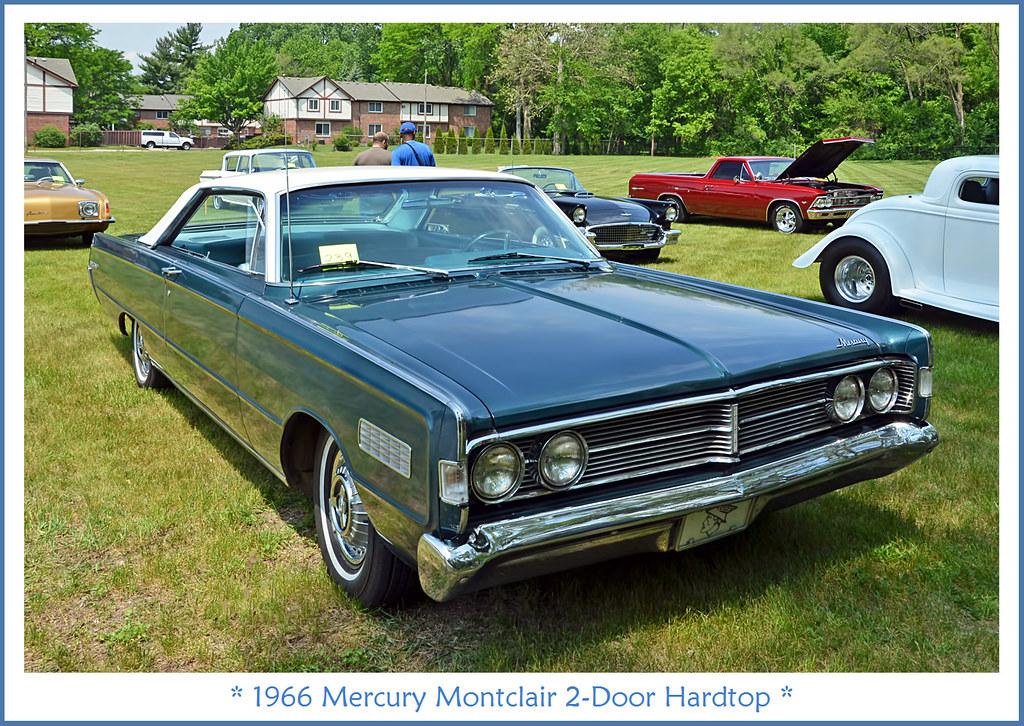 1966 Mercury Montclair 2 Door Hardtop Photographed At