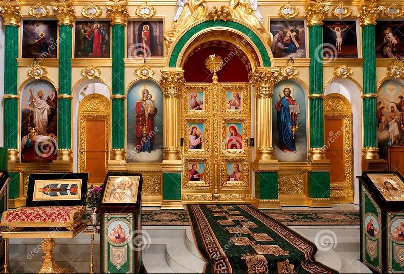 Eglise orthodoxe russe de buenos aires le petit herge de for Interieur forma buenos aires