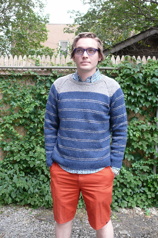 Brooklyn Tweed Bradbury Pullover | Ginger Makes