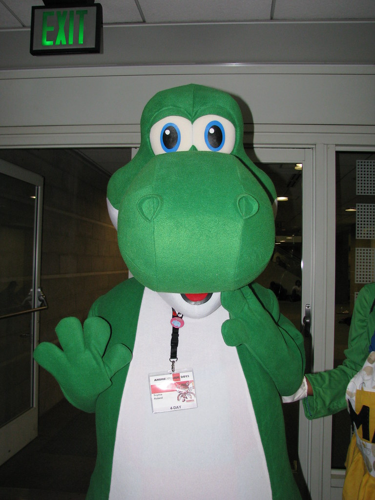 Anime Expo 2013 - Yoshi Cosplay | A picture of Yoshi ...