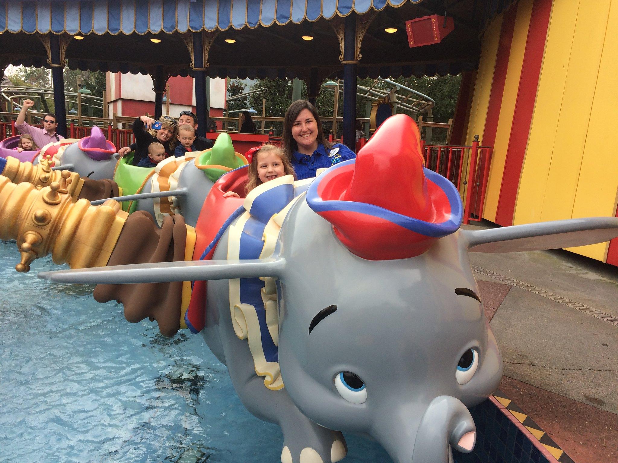 Magic Kingdom Student Seminar Day - Dumbo
