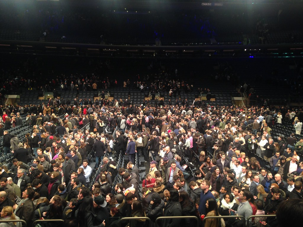 Madison Square Garden Crowd Pat Guiney Flickr