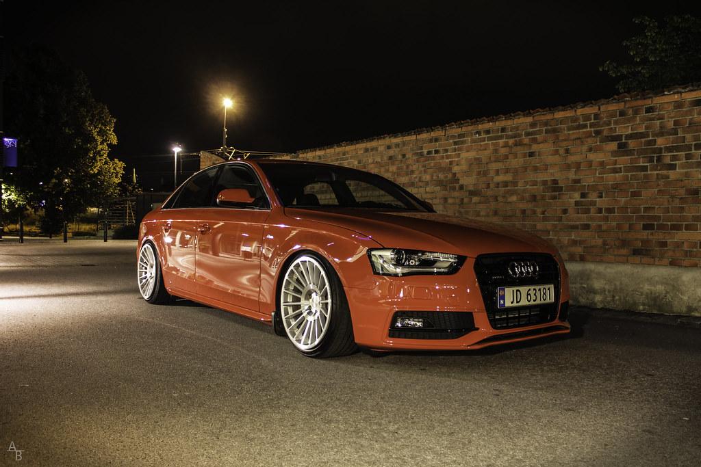 Audi A4 B8 Facelift On Rotiform Audi A4 B8 Facelift On