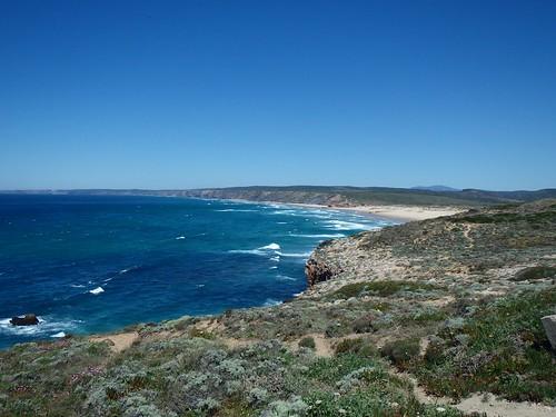 La costa atlantica del Portogallo