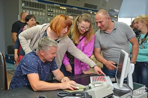 Польська делегація відвідала  Рівненську АЕС, фото-1