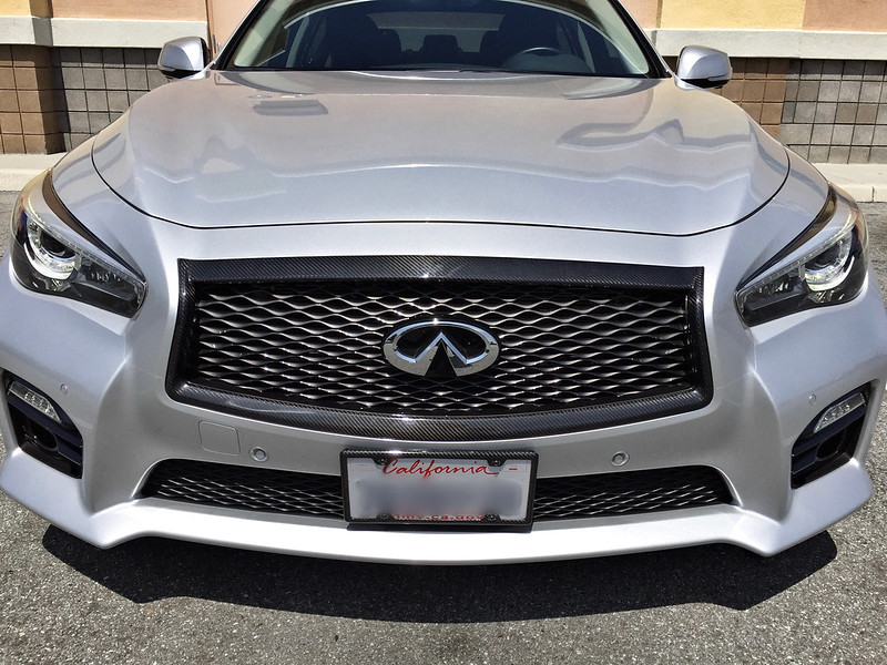 Post pics of your license plate frame - Infiniti Q50 Forum