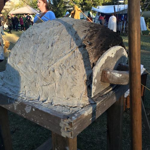 Adam's cob oven