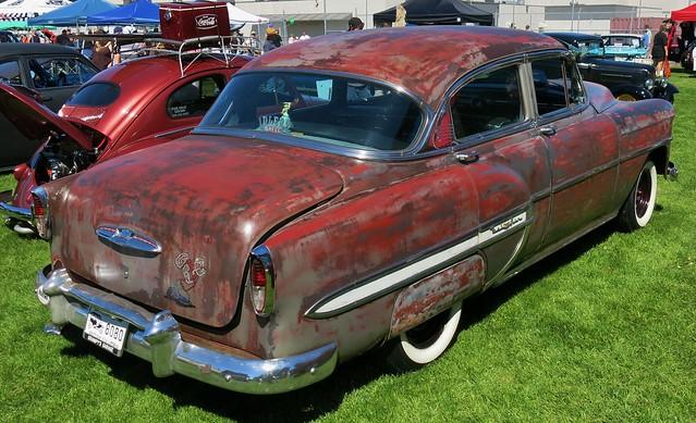 1953 chevrolet bel air 4 door sedan explore custom cab 39 s for 1953 chevy bel air 4 door