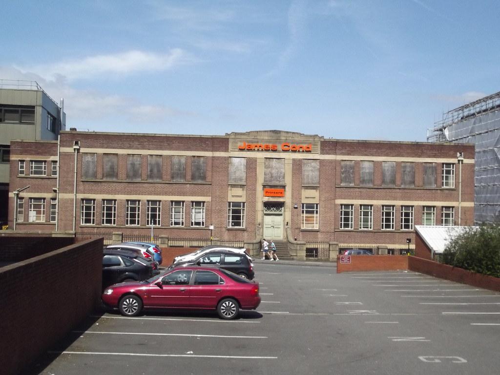 Charlotte Street Car Park Birmingham