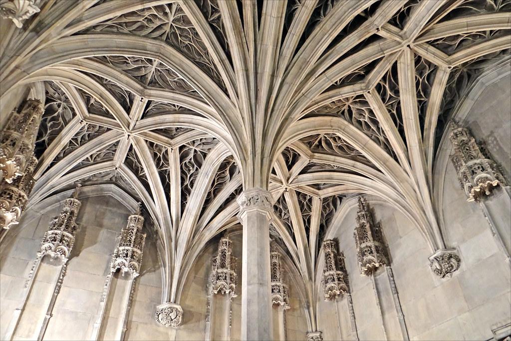 Le Plafond De La Chapelle Mus 233 E De Cluny Chapelle De L