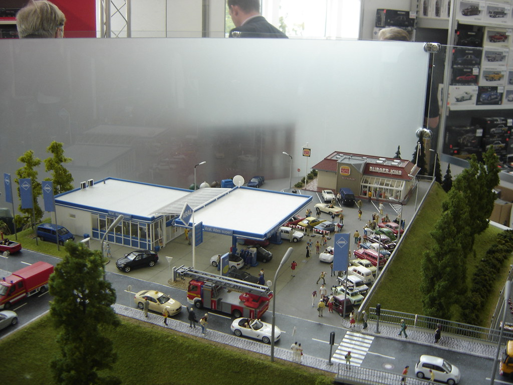 New Car >> IAA 2013: Herpa Model Car Diorama | harry_nl | Flickr