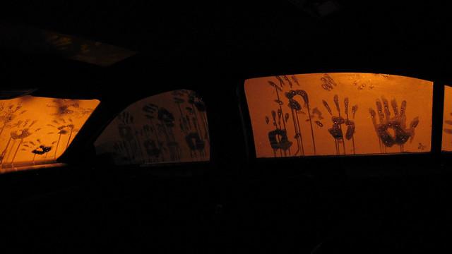 Handprints On Car Wont Wash Out