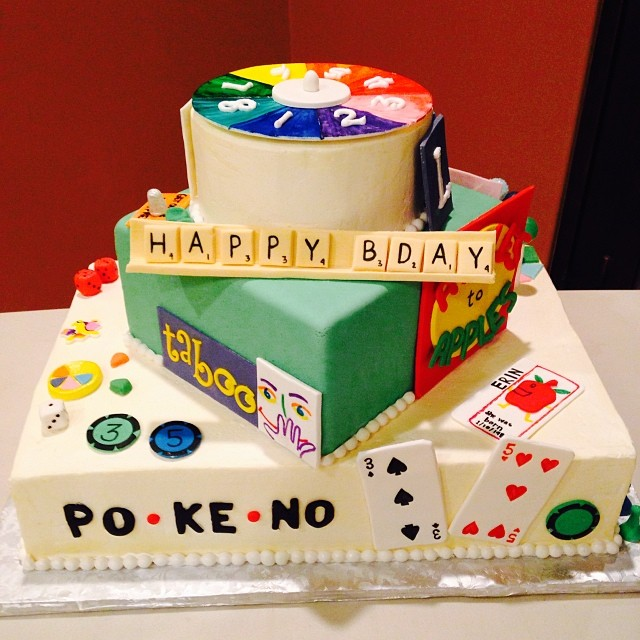 All Sizes Board Game Cake Happy Birthday To Me Amazing Cake