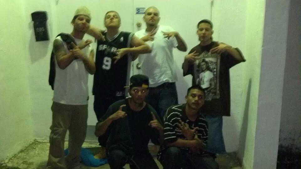 San Antonio Gang Bangers Camob13 Chicano Azteca Trece