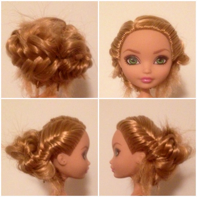 Boho Chic Just practicing braided hairstyles   Boho Braided Hairstyles