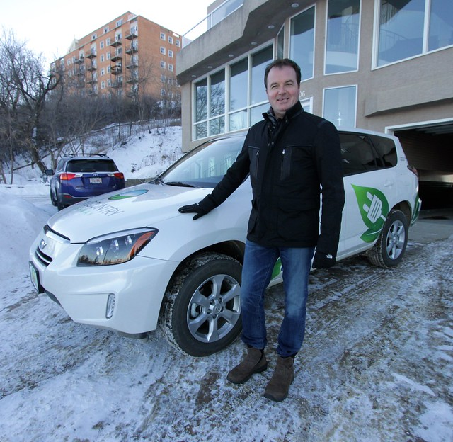 Canada's only RAV4 EV?