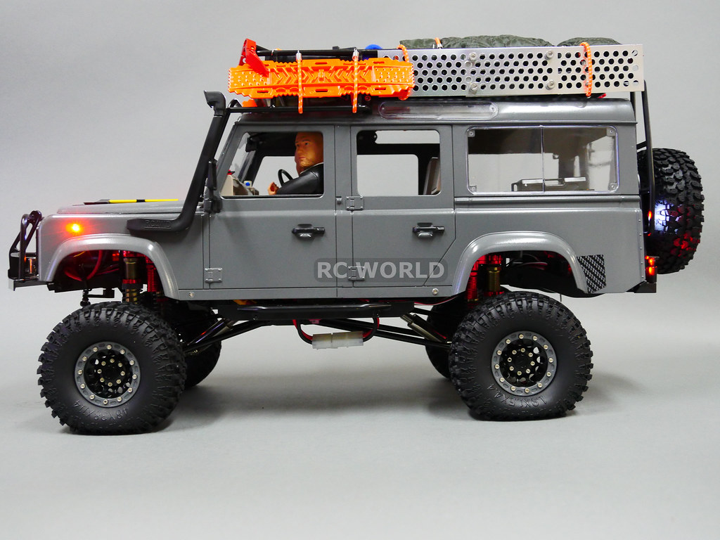 Rc 1 10 Land Rover Defender 110 Camel Trophy 4x4 W Winch Flickr