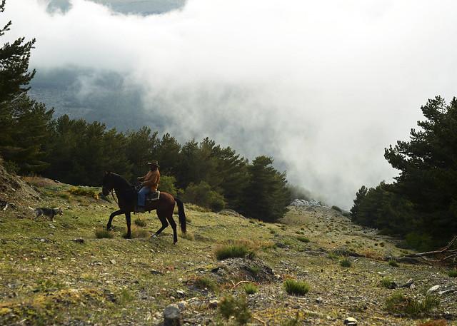 Fran a caballo por los paisajes del