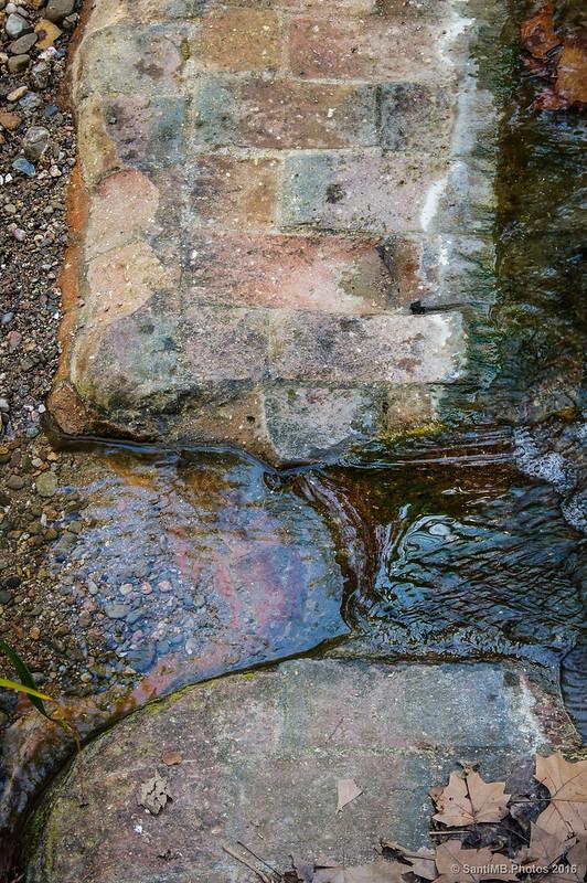 La corriente de agua