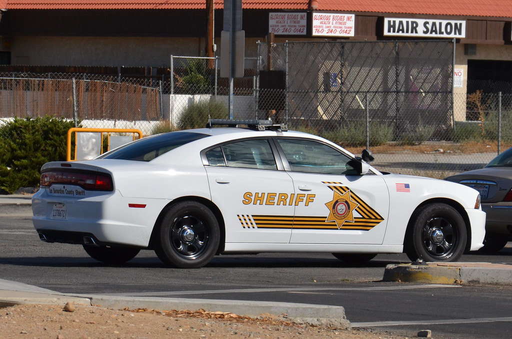 San Bernardino County Sheriff S Department Dodge Charger