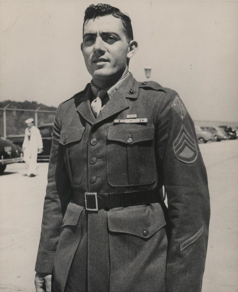 John Basilone Marine Headquarters September 1943 Flickr