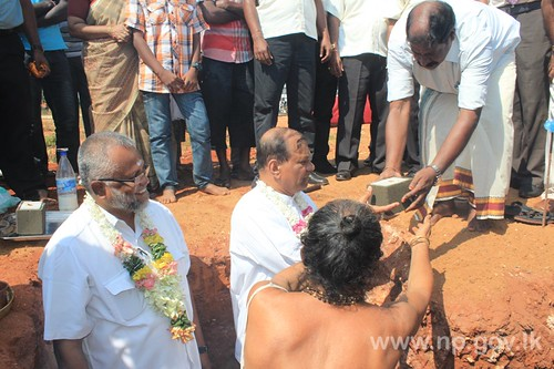 Foundation stones laid down in Atchuveli Industrial Zone – 16 April 2014