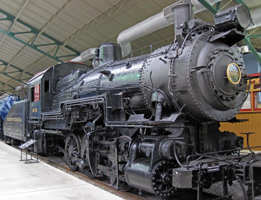 pennsylvania railroad   1670 steam locomotive  0