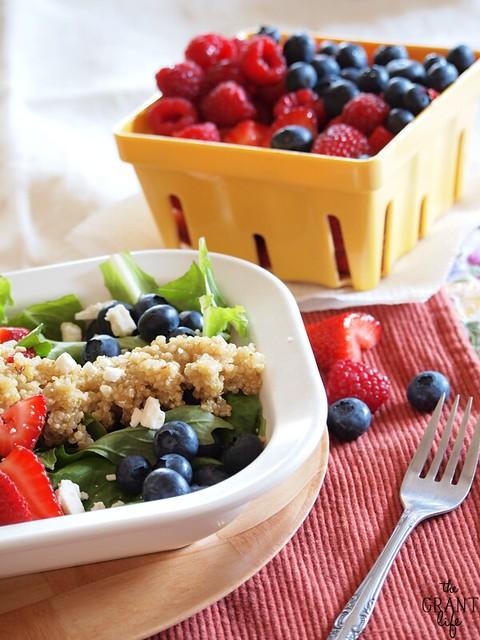 Quinoa Berry Salad