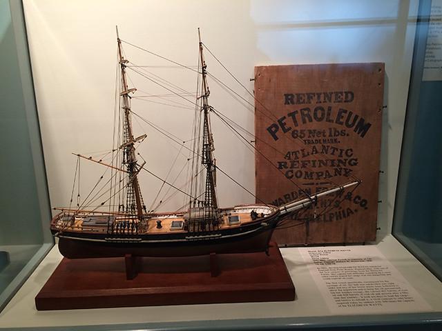sailing tanker Elizabeth Watts