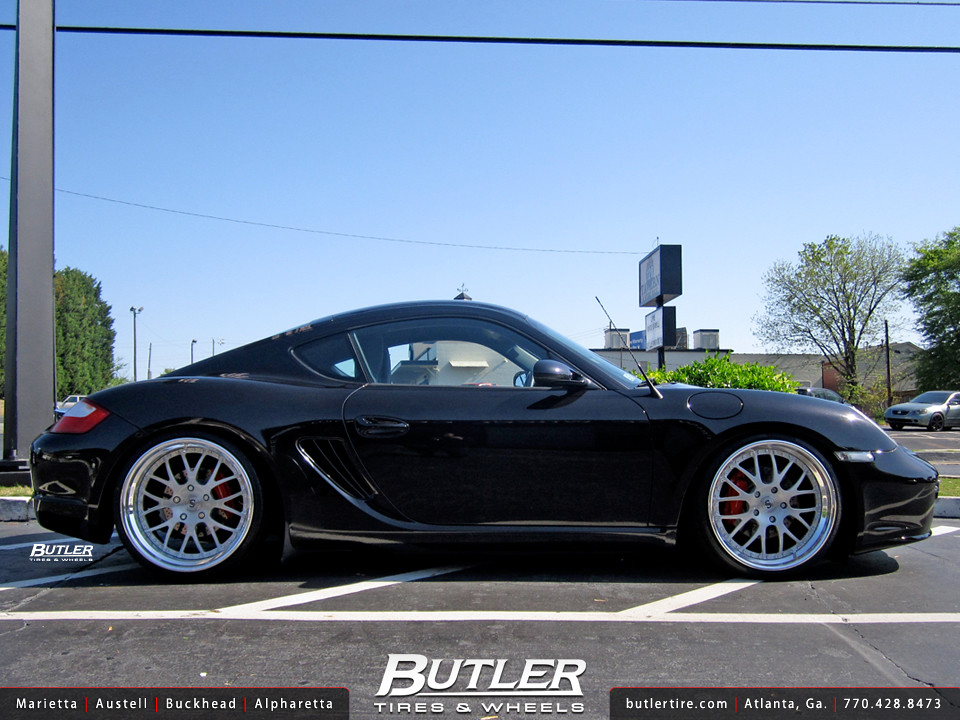 Porsche Cayman With 20in Strasse Forged Sm8 Wheels Flickr